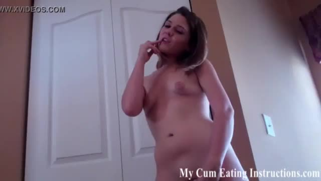 Jerking you off into a glass and forcing you to eat your cum