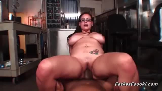Chubby latina loved black cock