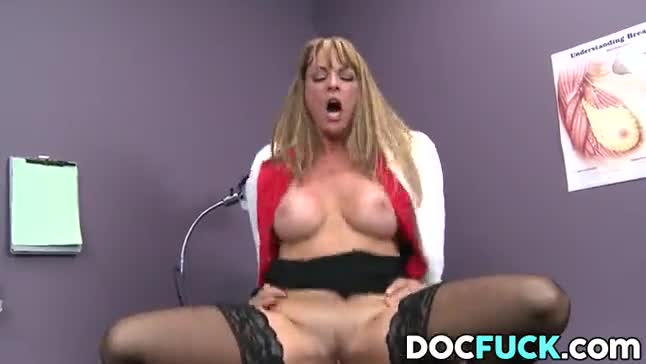 Hdvpass sexy milf nurse shayla laveaux gets fucked by huge black cock