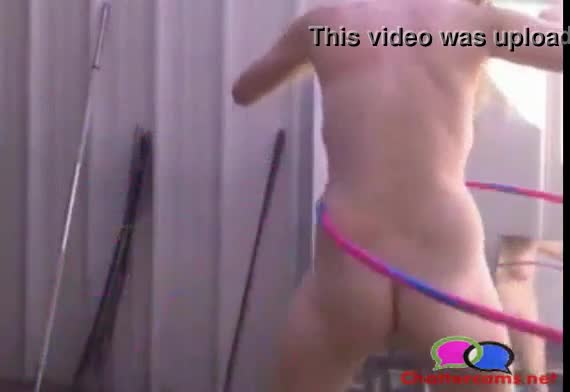 Naked video game hoola hoop