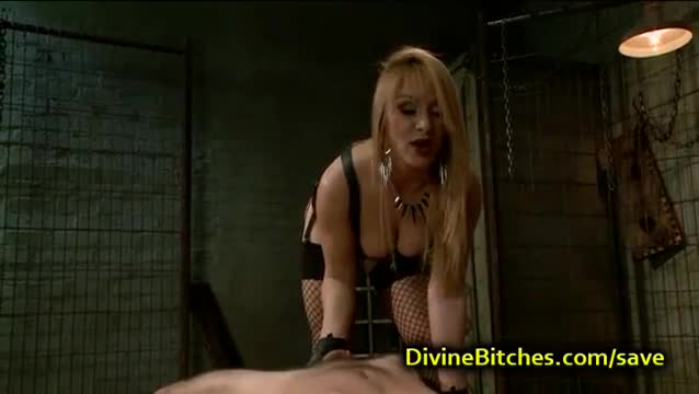 Babe wants big black dick not small white ones bdsm bondage slave femdom domination