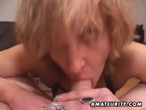Pov blowjob amateur wife with sexy ass gives sloopy head