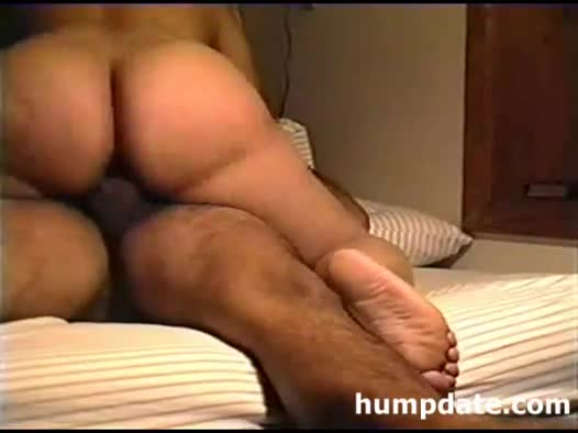 Big butt wife riding a cock
