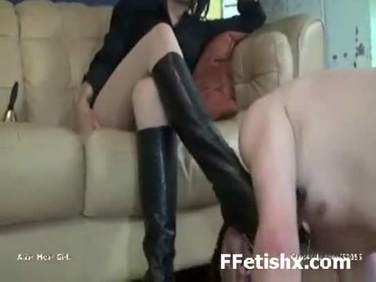 Abusive girl spanked horny