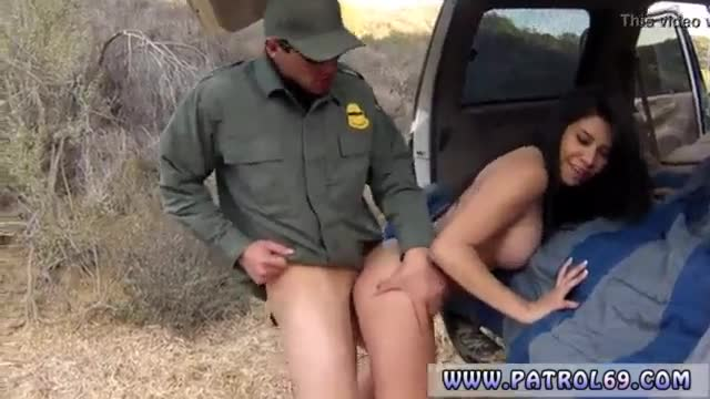 Black police woman first time busty latin