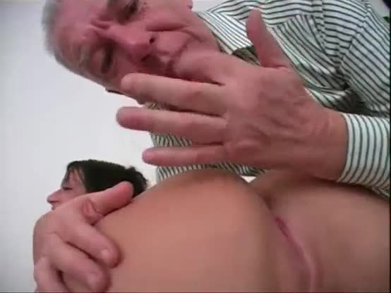 Old man anal fuck young girl