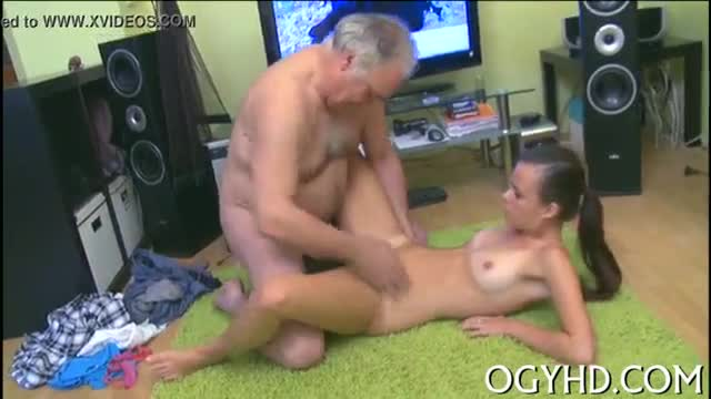 Pov amateur blow old rod