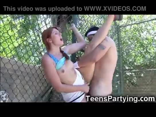 Party girl sucks good