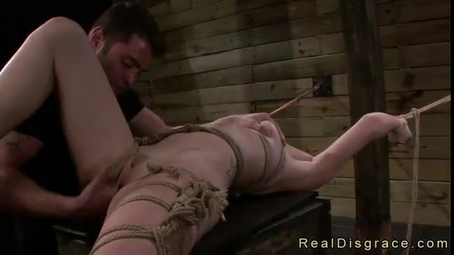 Real sex slave punished and gangbanged