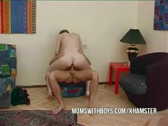 Mature wife convinces young boy to fuck