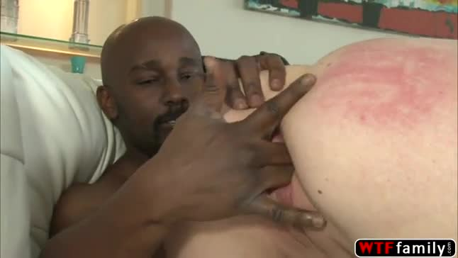 Alice bells first time with a black cock