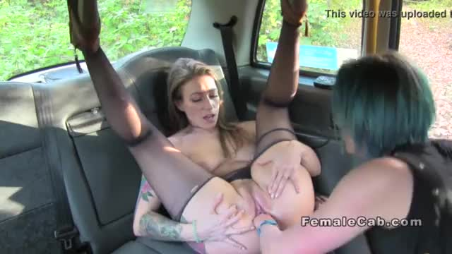 Sixtynine oral in female fake taxi