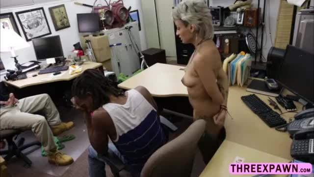 Ebony babe agrees to gets pussy fucked in front of his black desperate bf