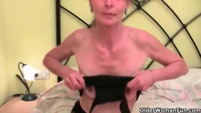 Sexy blonde british milf you never know how