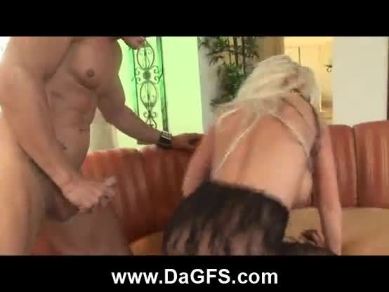 Anal squirting huge boobed blonde