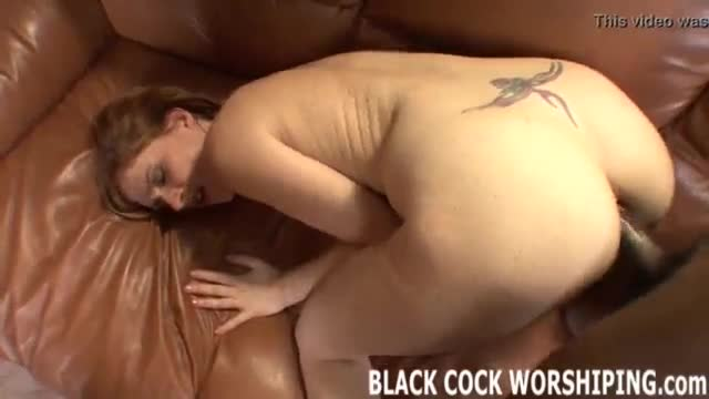Huge bbc to suck while he is cooking