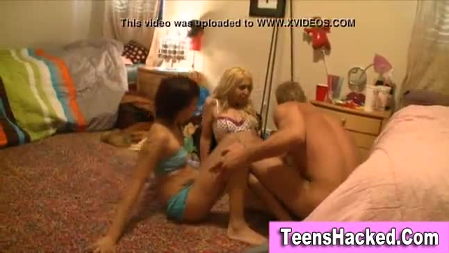 Tattooed teens fucked and jizzed