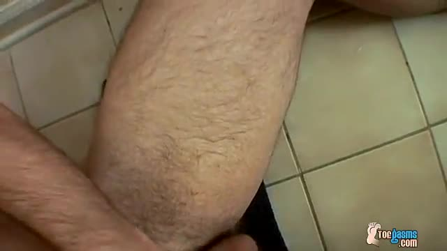 Straight furry foot fetish and solo men