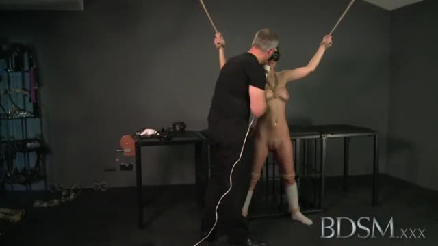Master takes his sub girl from behind foran intense orgasm