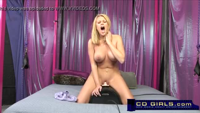 Strapped sybian ride