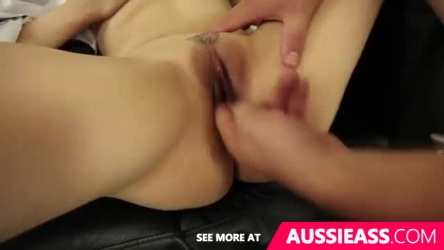 Teen maid takes big cock in her pussy