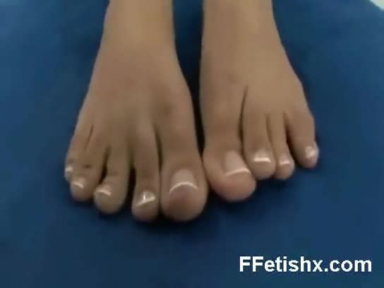 Versatile foot fetish gal wild naked