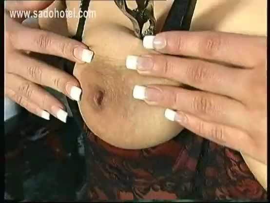 Sex and metal nipple trap