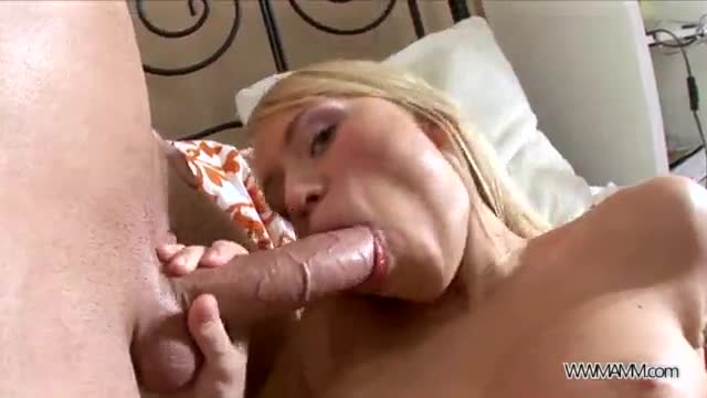 Big cock for young blonde babe