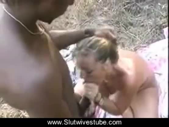 Hubby films wife with big black cock